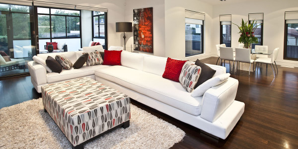 Lounge - Mount Waverley Residential Builders