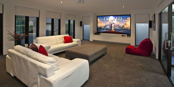 Cinema - Mount Waverley Residential Builders