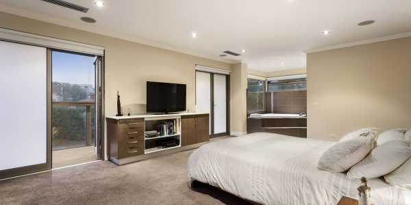 bedroom - Oakleigh East Residential Builders