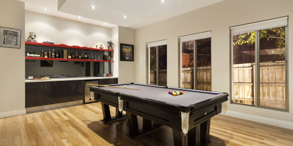 Entertaining room - Oakleigh East Residential Builders