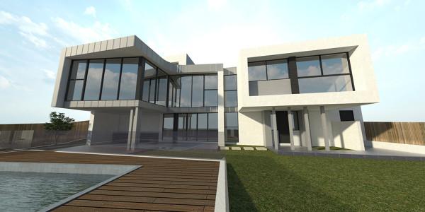 Back Yard View - Glen Waverley Residential Builders