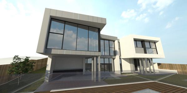 Back Yard View 2 - Glen Waverley Residential Builders