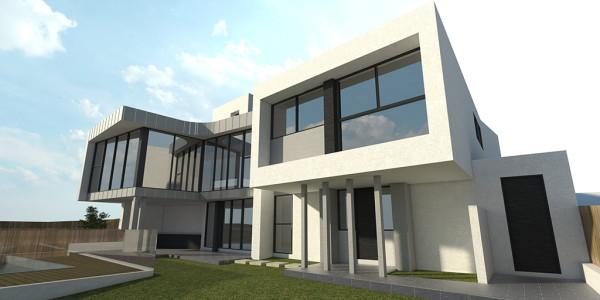 Back Yard View 3 - Glen Waverley Residential Builders