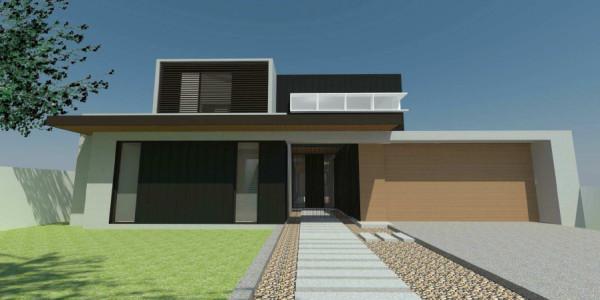Front Elevation - Mount Waverley residential builders