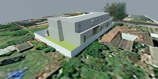 Rear View - Mount Waverley residential builders