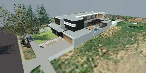 Front Right View - Mount Waverley residential builders